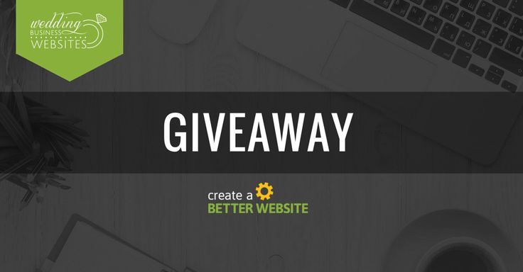 Create A Better Website Giveaway