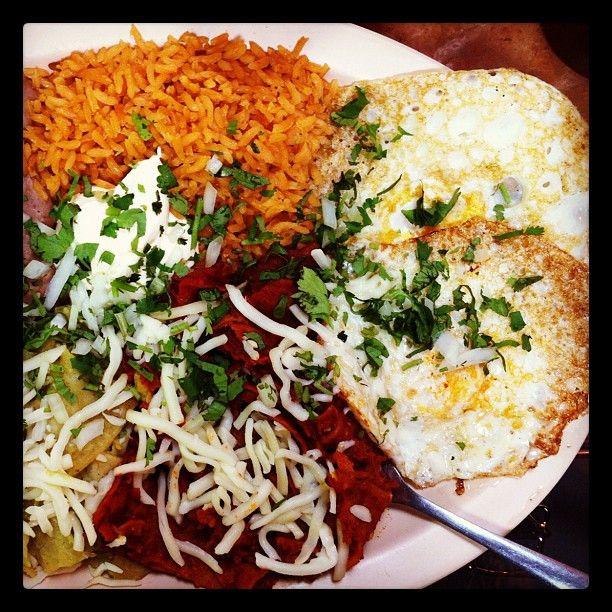 Fall colors chilaquiles at Taqueria Ricardo, Chicago | Food ...