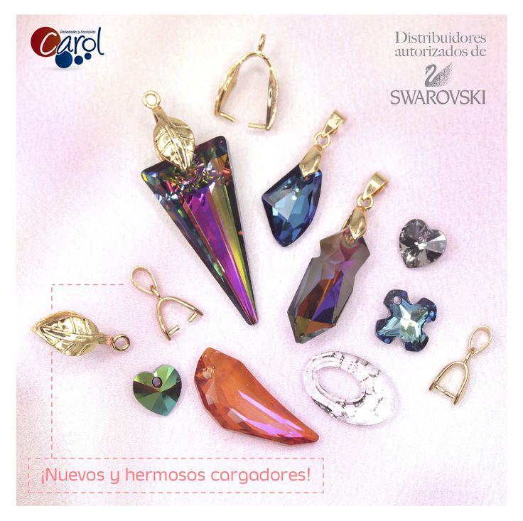 ¡Hermosos y exclusivos!  Así son los nuevos pendientes de Swarovski, una nueva línea que tenemos ahora en nuestra página web. Dando clic en este pin puedes entrar a conocerlos.  #pendientes #Swarovski #bisuteria #accesorios #moda #tendencias