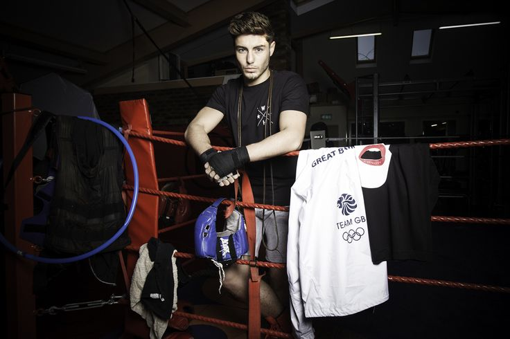 Team GB boxer Josh Kelly wearing Wasted Heroes www.wastedheroes-shop.com