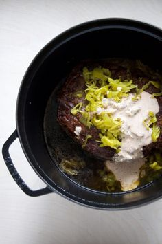 Dutch Oven Mississippi Roast Recipe From The New York Times // @nicoledula