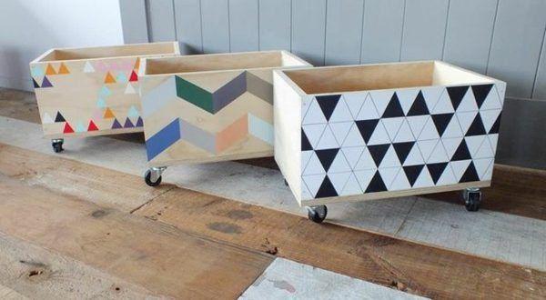 Artesanatos Criativos com Caixa de Feira