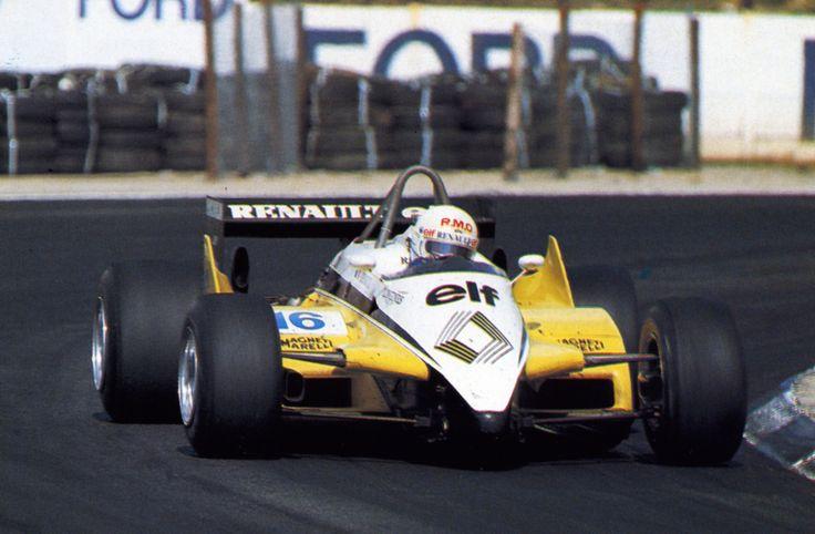 1982 Rene Arnoux Renault Turbo RE30 B