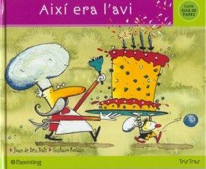 """Llibre per treballar amb els infants la mort el el dol. """"Així era l'avi"""" de Joan de Déu Prats."""