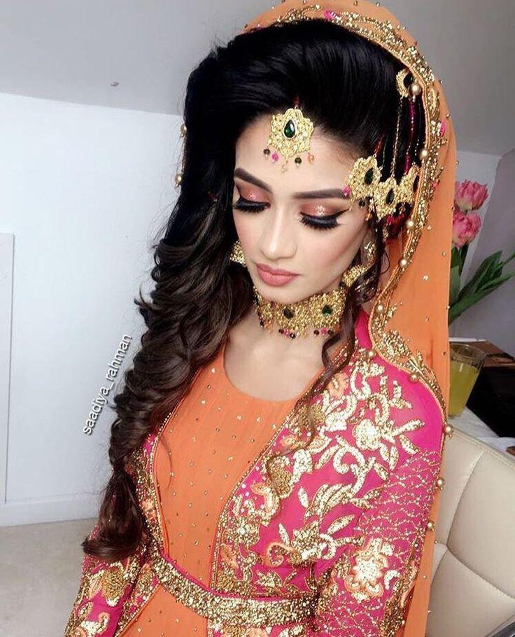 Hairstyles Pakistani Mehndi: The 25+ Best Mehndi Hairstyles Ideas On Pinterest