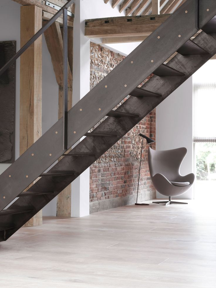 25 best ideas about steel stairs on pinterest for Manufactured stairs