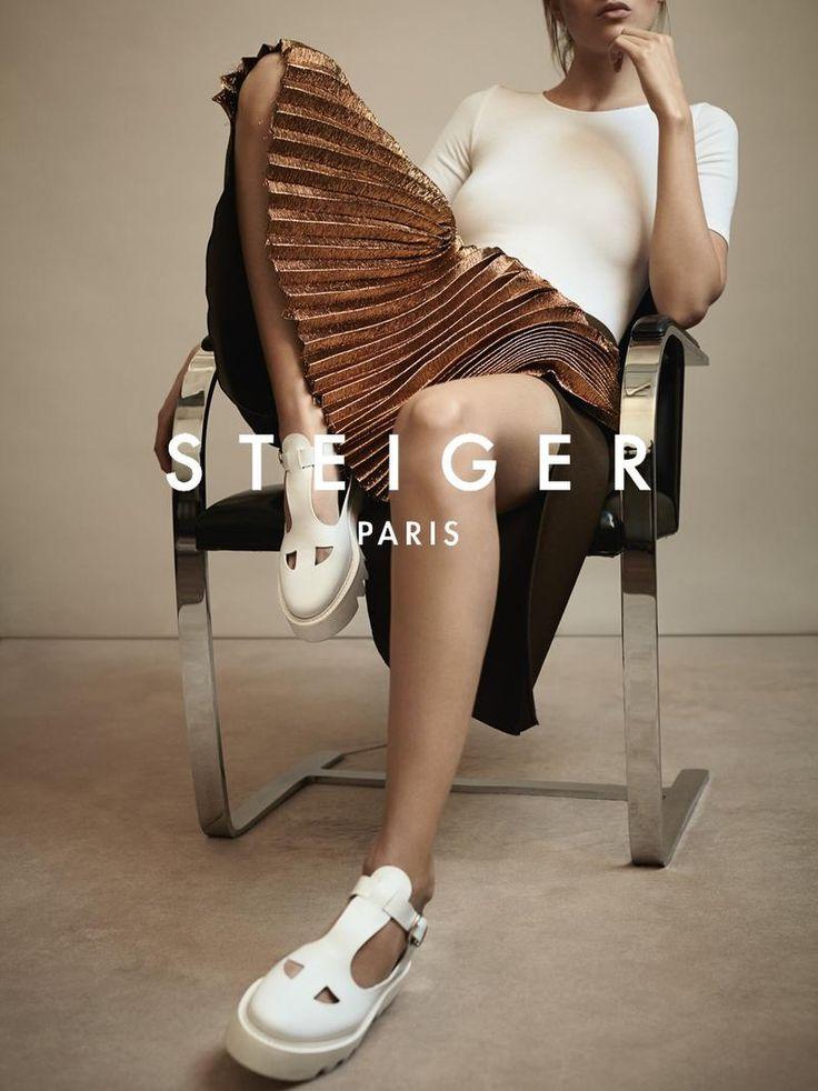 Fashion Copious - Lika Rzhevskaya for Walter Steiger SS 2016 Campaign by Lara Giliberto