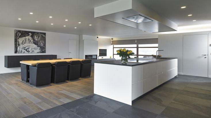open keuken in leefruimte