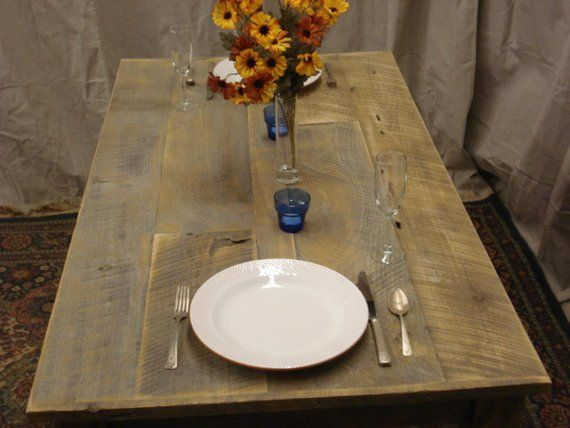 Farmhouse Table Rustic Dining Room Table Counter Height