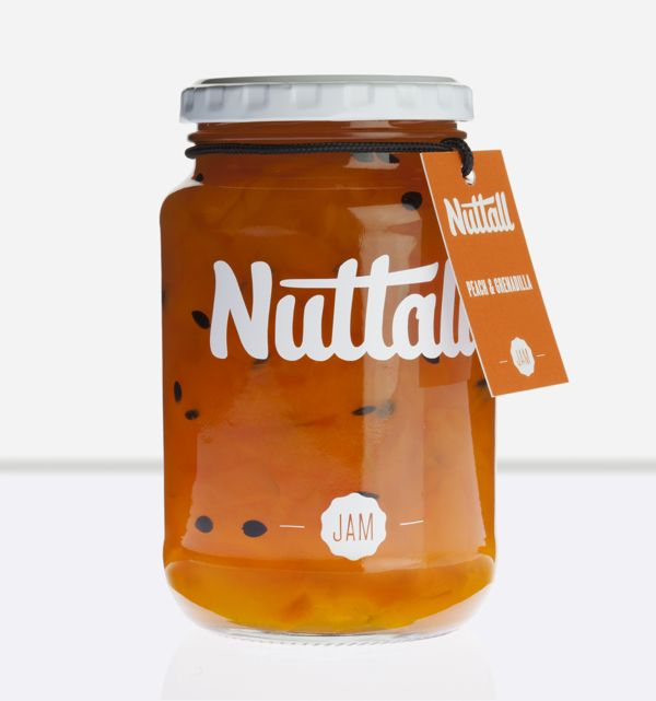 Nuttall Jam Packaging by MARK , via Behance