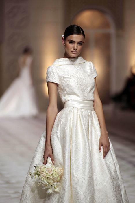 Unique Pronovias at Barcelona Bridal Week