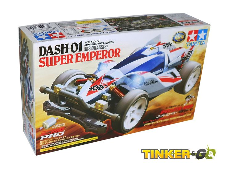 Mini 4wd Tamiya 18632 DASH 01 SUPER EMPEROR Pro - € 15,00