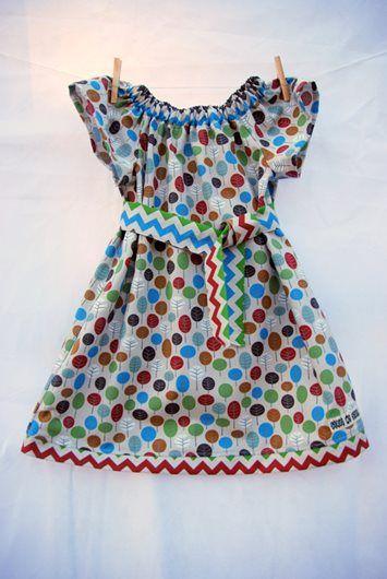 Strut My Stuff - 100% Organic Cotton Tree Play Dress
