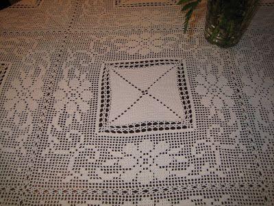 Filomena Crochet e Outros Lavores: Toalha de Crochet