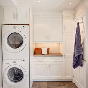Stack Washer Laundry Room Ideas 3 121 Stacked Washer And