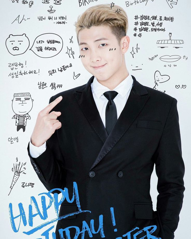 Happy Birthday Rap Monster!!!