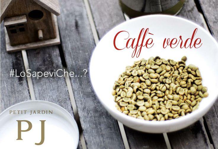 #LoSapeviChe...? Il #caffè #verde è un tipo di caffè di qualità arabica ma non tostato in grado di #ridurre l'assorbimento di #zuccheri e di #accelerare il #metabolismo dei #grassi.  Per questo l'#anticellulite Petit Jardin è così efficace!