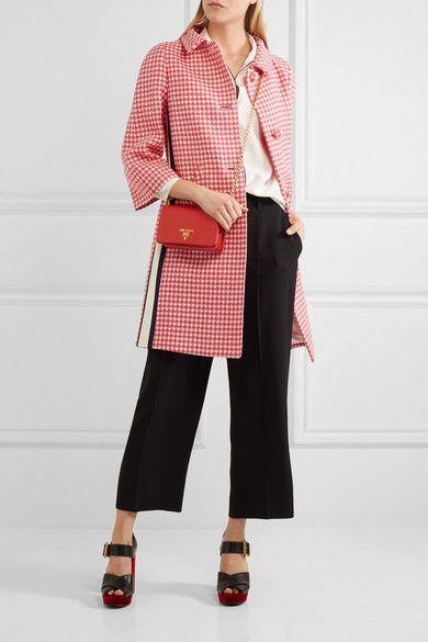 ... where to buy prada textured leather shoulder bag net a porter bags  pinterest leather shoulder bags f54cdda867