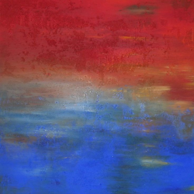 "YAC-Artist Aneta Pahl: ""Red and Blue"""