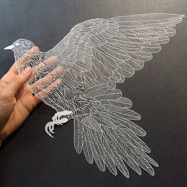 It's all in the cut out: Intricate paper works by Maude White: maude-white-papercut01.jpg