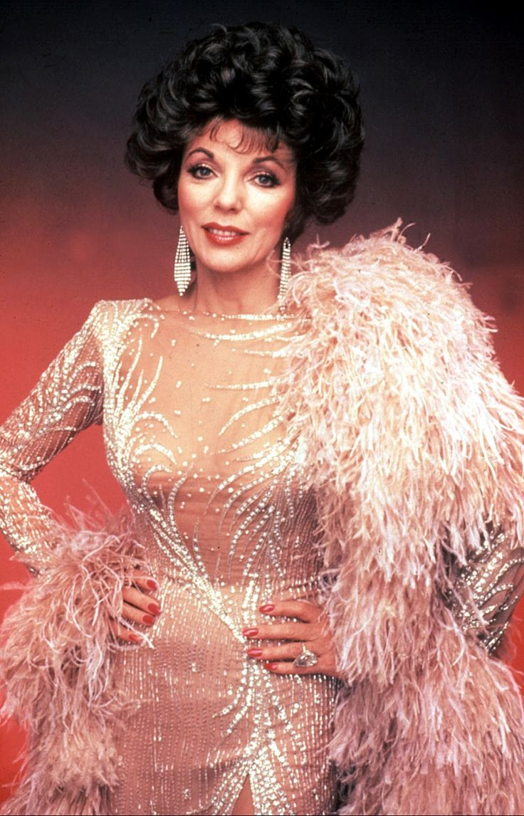 Joan Collins as a Scandalous-Mother...