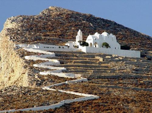 Panagias Monastery folegandros, Greece