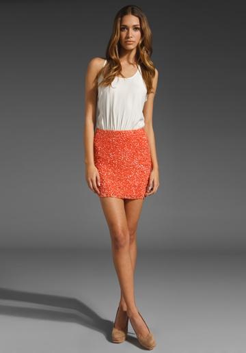 Love thisOrange Crushes, Style, Closets, Cute Dresses, Parker Cluster, Tanks Dresses, Day Dresses, Sequins Tanks, Cluster Sequins