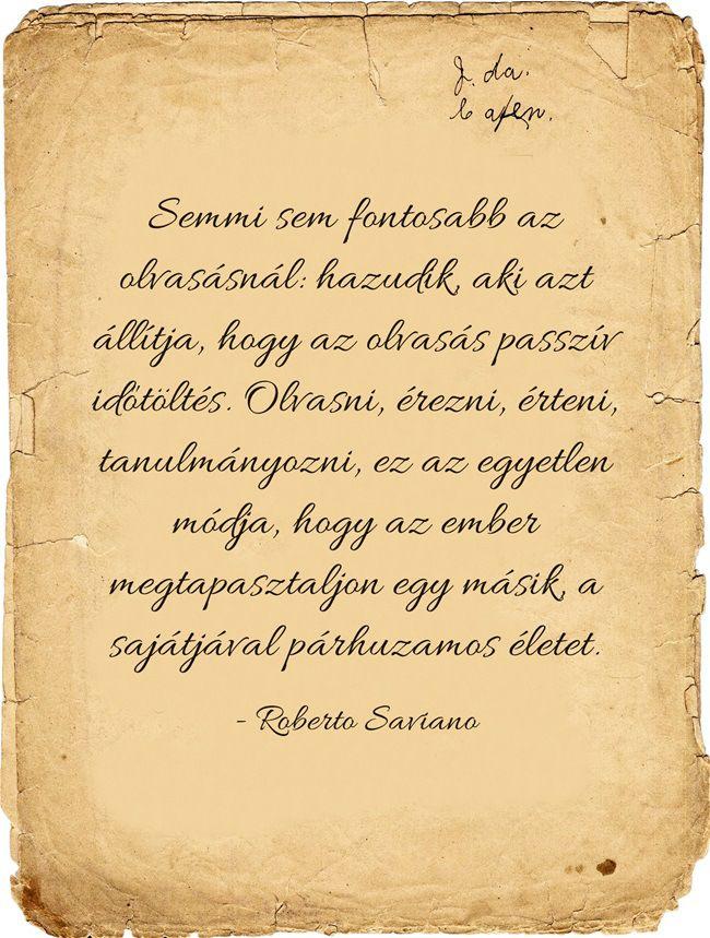 Roberto Saviano-idezet