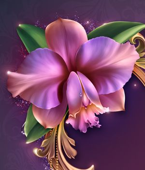 Moonbeam's Romantic Orchids 2D Merchant Resources moonbeam1212
