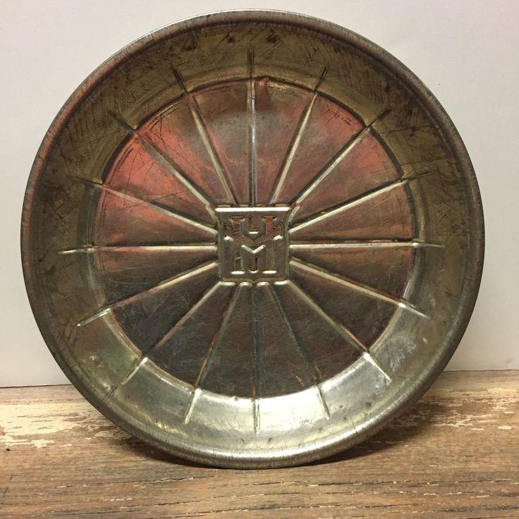 Vintage MLJ Logo Pie Tin Pie Plate Pie Pan 9 034 16 Slice RARE and Hard to Find | eBay