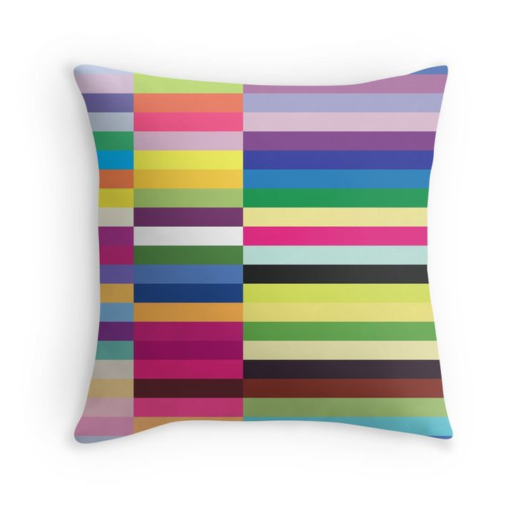 Compelling Colorful Striped Pattern by ernstc