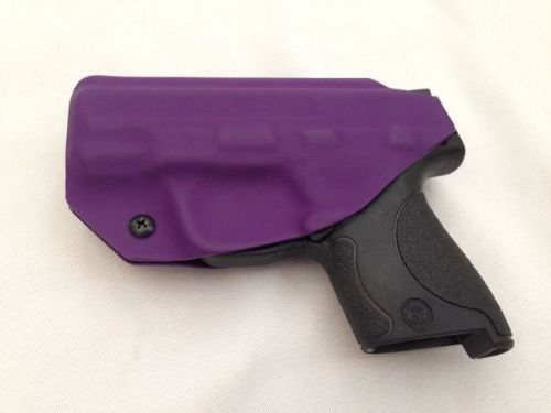 Adjustability is a must in a holster! Adjust your cant angle and retention! Pick your color or pattern, or upload your own design!