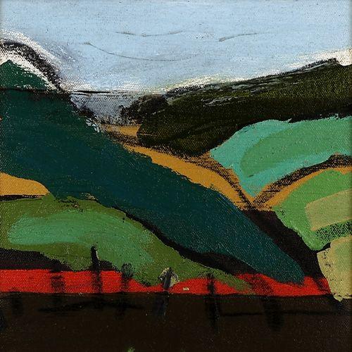 Landscape oil painting 16-095