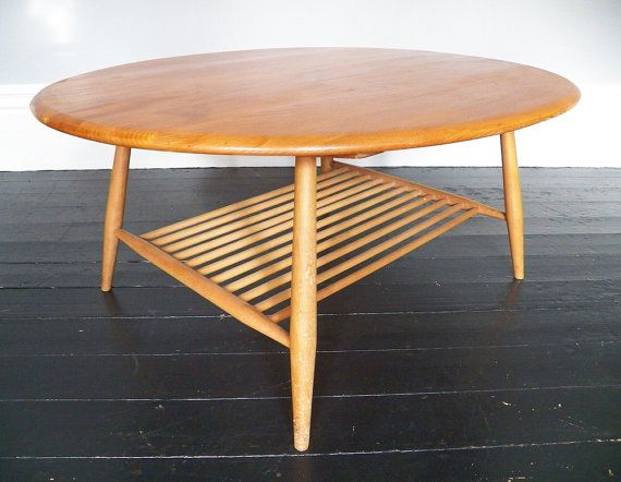 Vintage Ercol coffee table by LinneyHughes on Etsy