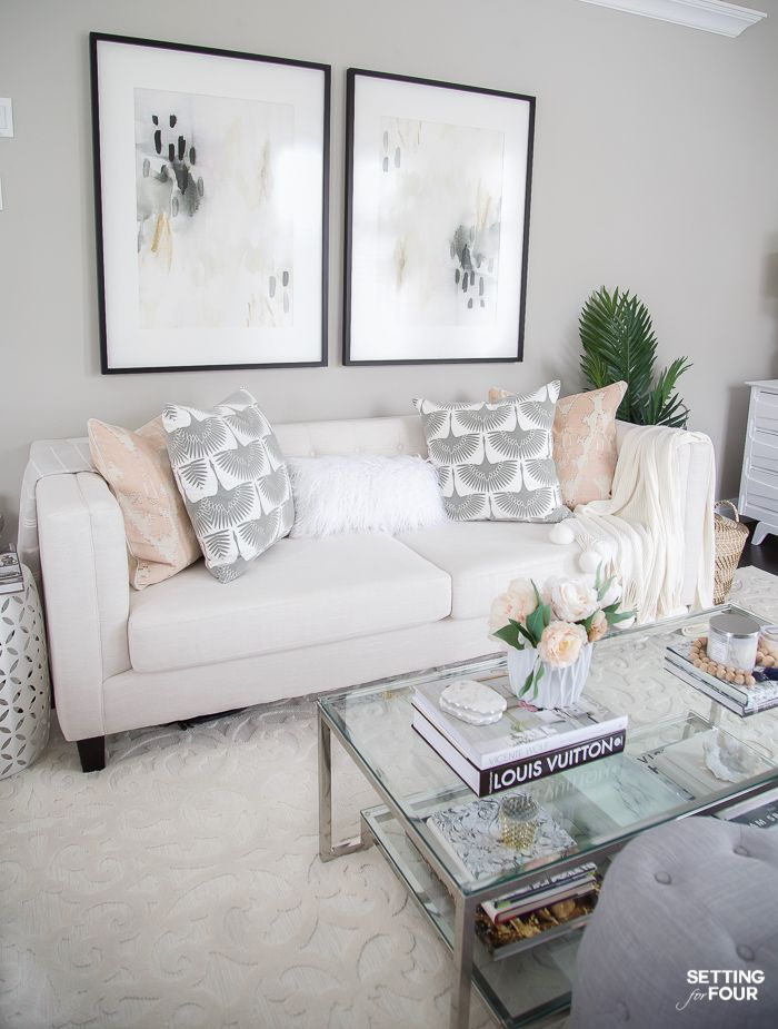 My Living Room Decor Ideas For Spring Spring Living Room Decor