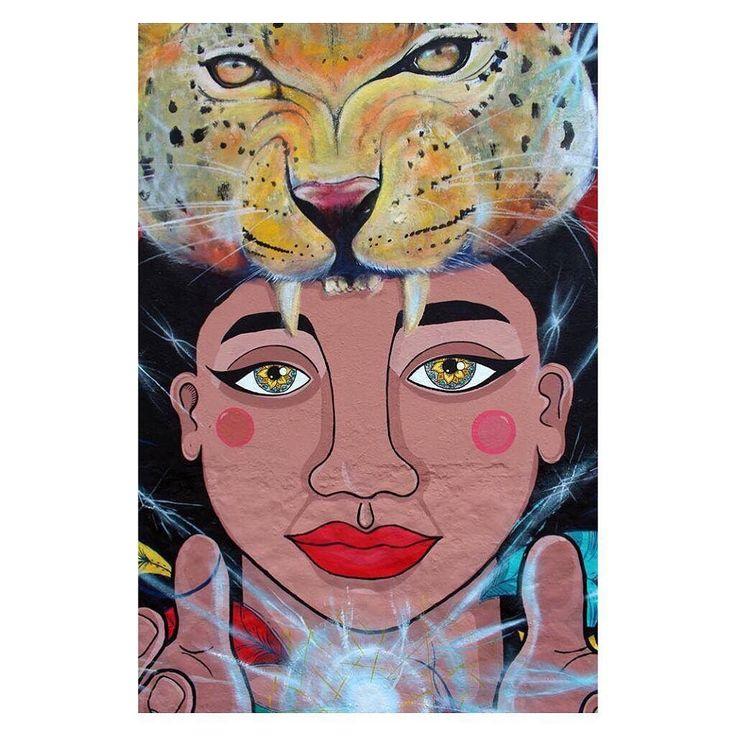 Muro en conexión con Teca y Niño #muralismo #tbt #arteurbanocali #tbt2014