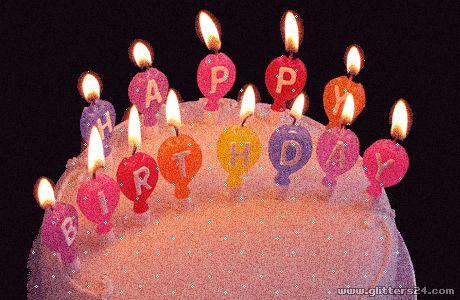 Happy Birthday Gifs para descargar gratis online.