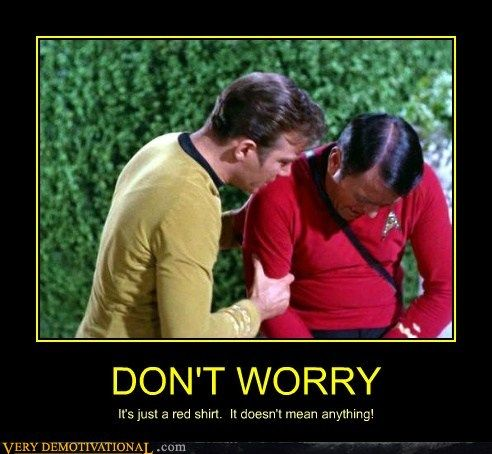 197c40770ed00d3bd794edb15dc6f782 gold shirts star trek original series 38 best red shirt jokes star trek images on pinterest red shirt