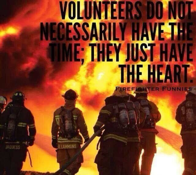 Volunteer Firefighters #VolunteerFirefighter #Firefighter