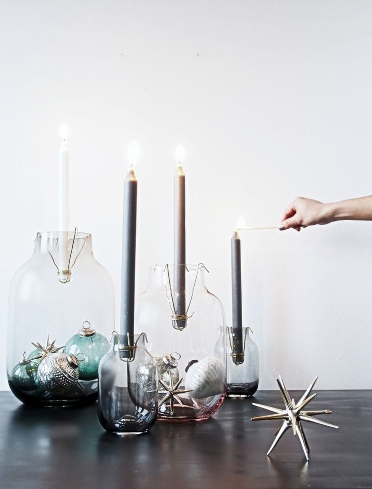 DIY Candle Vases Budget Friendly Project - Transform your Vases into Candle Holders