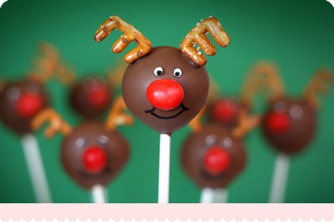 cake-pops: Christmas Cakes Pop, Reindeer Cakes, Holidays, Cake Pop, Cute Cakes Pop, Art Cakes, Cake Pops, Cakes Pop Recipes, Cakes Ball