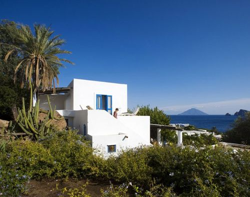 another beautiful home on panarea, italy | THE STYLE FILES
