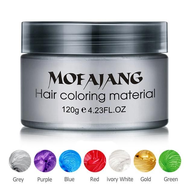 Color Hair Wax (Washes out)