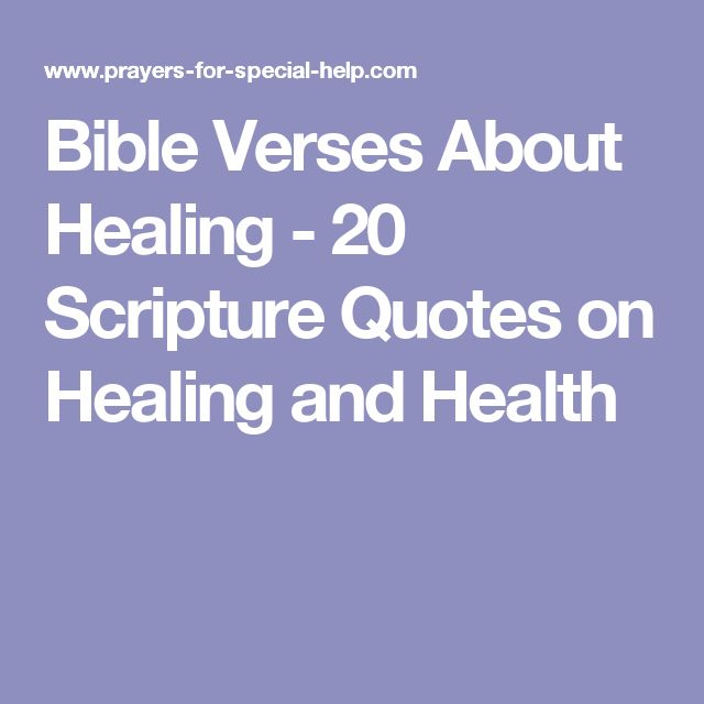 1000 ideas about bible verses about healing on pinterest