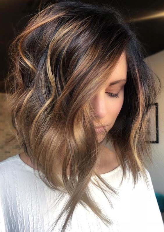 62 Best Texture Tousled Balayage Haircuts To Wear in 2018. Youthful and trendy textured tousled balayage hair colors for women in 2018. Whether you've long, short, medium or any other type of hair length, you may use this hair color ideas to achieve obsessing hair colors in 2018. See our best collection of hair colors in 2018.