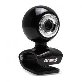 Webcam Aneex C212 Caractéristiques Webcam Aneex 1.3MP Avec micro intégré - Bouton Snapshot en ligne - Interface USB Référence : F-E-C212