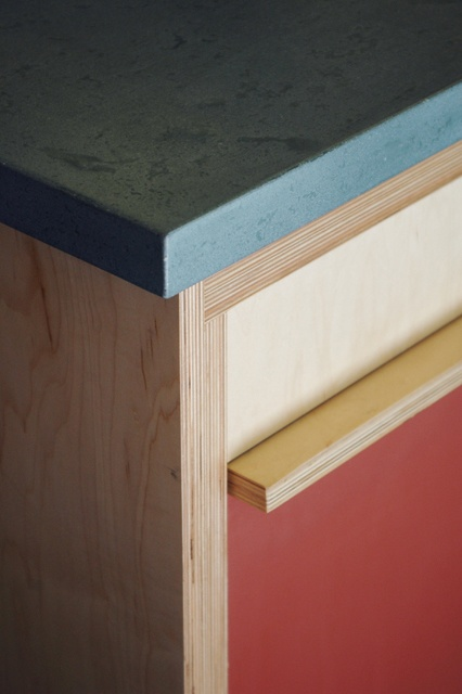 custom plywood cabinetry -- Hart Wright Architects  Like, repin, share! Thanks!!