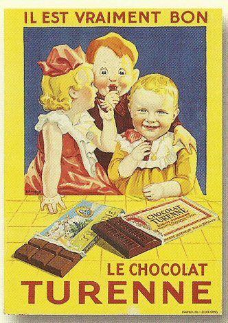 Il est vraiment bon Le chocolat Turenne