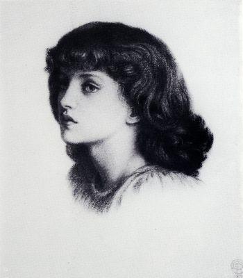 Dante Gabriel Rossetti | May Morris | 1862-1938, model | daughter of William and Jane Morris