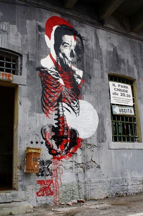 "Detail mural ""Infart"" by Orticanoodles, 2010"